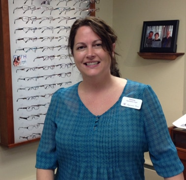 OPTOMETRIC SPECIALIST: Tammy